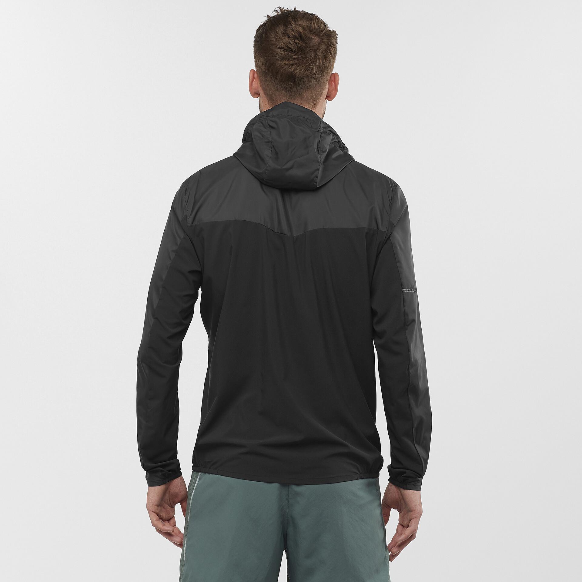 Eaze FZ Sweat Hood Jacket M Black